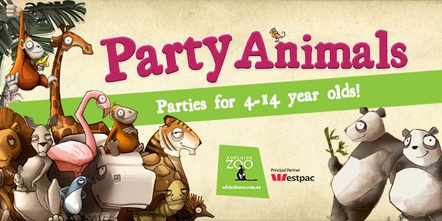 Children's birthday parties Adelaide Zoo