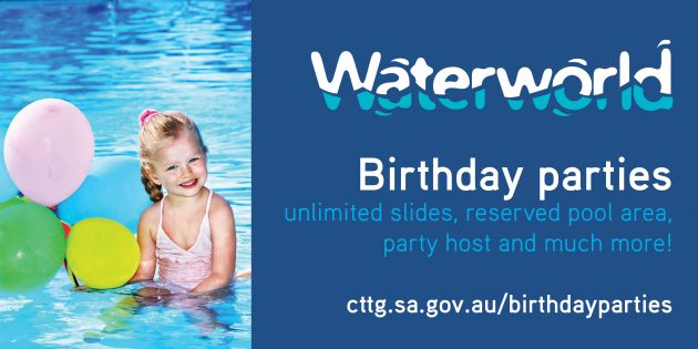 Waterworld Adelaide birthday parties