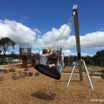 cobbler creek playground tyre swing