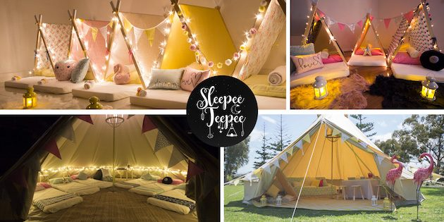 Children Birthday Party Ideas Sleepee Teepee