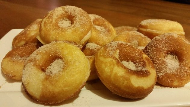 cinnamon donut recipe
