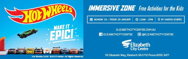 elizabeth city centre summer school holidiays