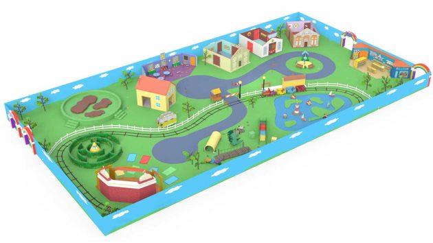 Peppa Pig Playdate Experience Map