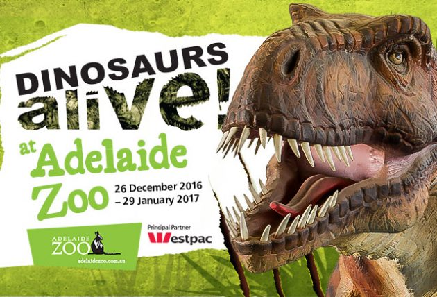 Dinosaurs Alive! at Adelaide Zoo