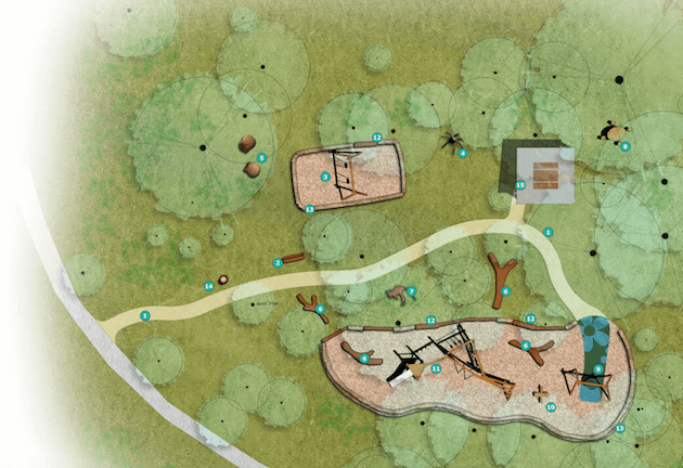 New Blackwood Playground concept plan