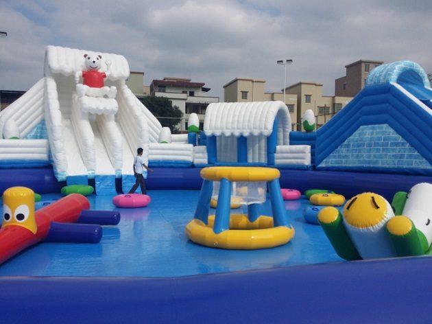 splash n bounce waterpark adelaide polar-bear-octopus-dare