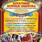 semaphore carnival and new years australia day 2016