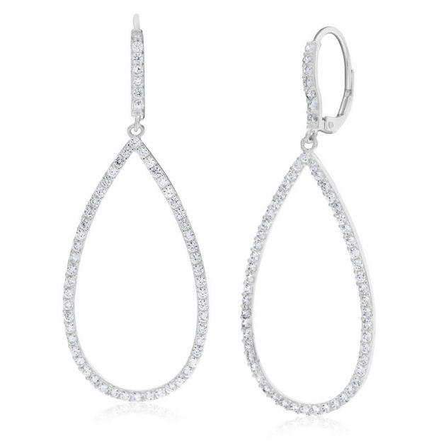 Zirconia Drop Earrings  WAS $99 NOW $69  30% off