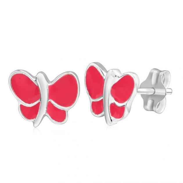 Sterling Silver Butterfly Stud Earrings $15 pair