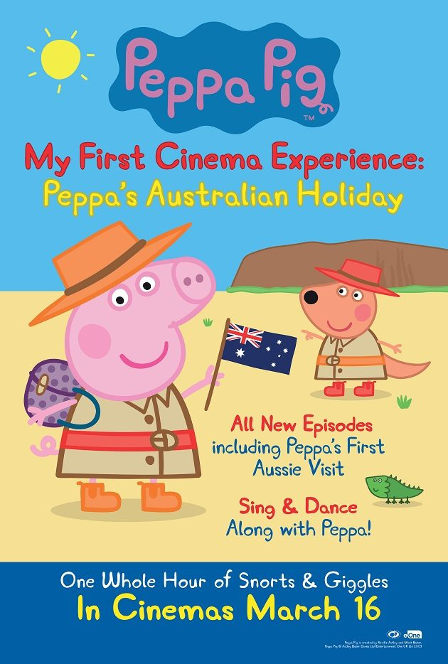 Win Tickets to Peppa Pig My First Cinema Experience Australia