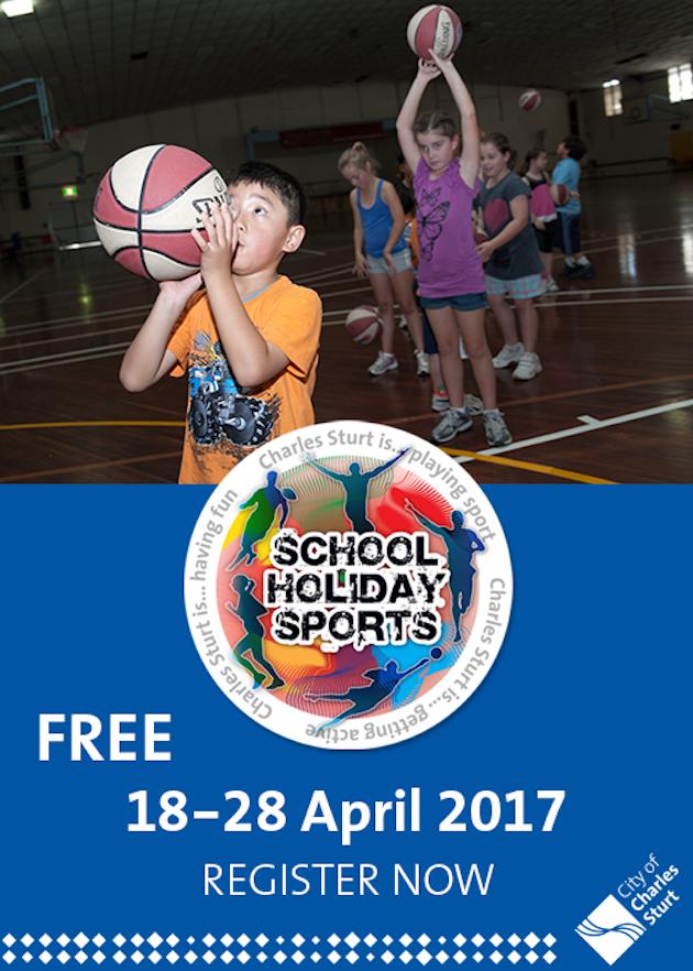 School Holiday Sports Apr 2017
