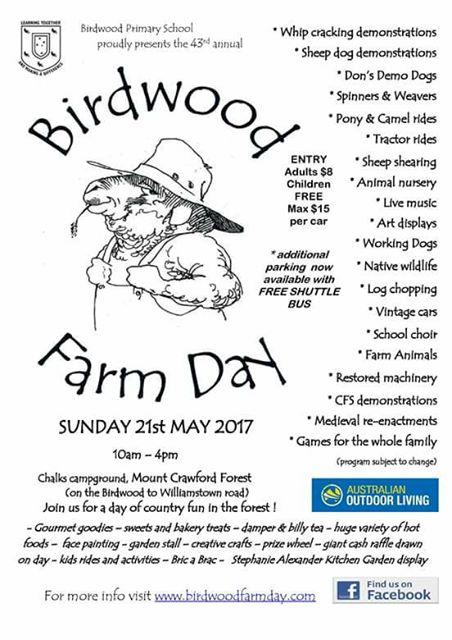 birdwood farm day
