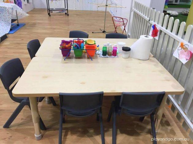 kid hub craft table