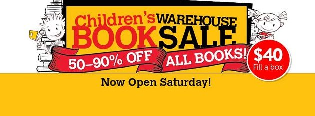 norwood warehouse book sale