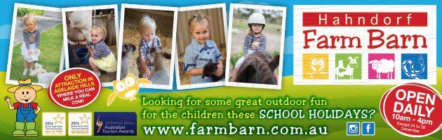 Easter School Holidays Adelaide Hahndorf Farm Barn