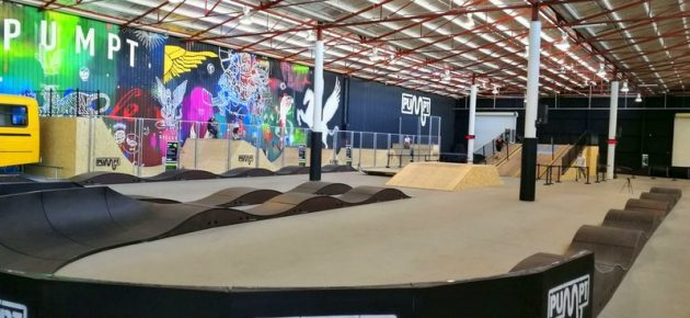 Pumpt Adelaide BMX Indoor Bike Track
