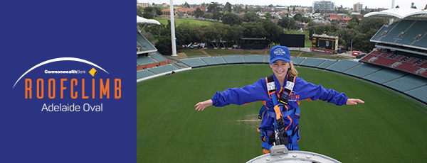 Easter School Holidays Adelaide Oval RoofClimb