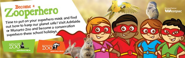 Adelaide Zoo School Holiday Program
