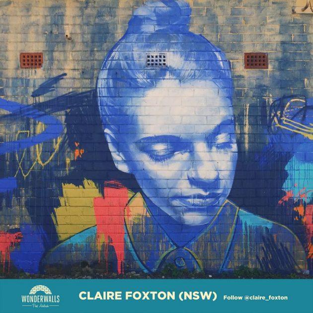 Wonderwalls Festival a three day street art festival in Port Adelaide