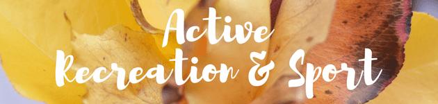 Active Recreation Sport autumn school holiday