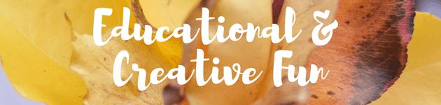Educational & Creative Fun autumn school holiday