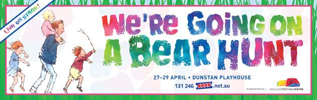 We're going on a bear hunt adelaide