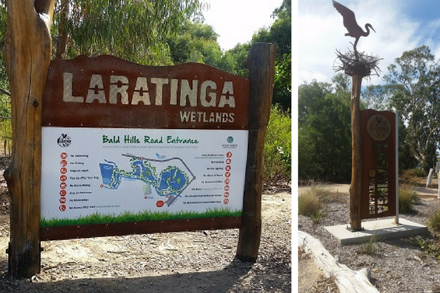 Laratinga Wetlands Bike Ride and Keith Stephenson Playground,