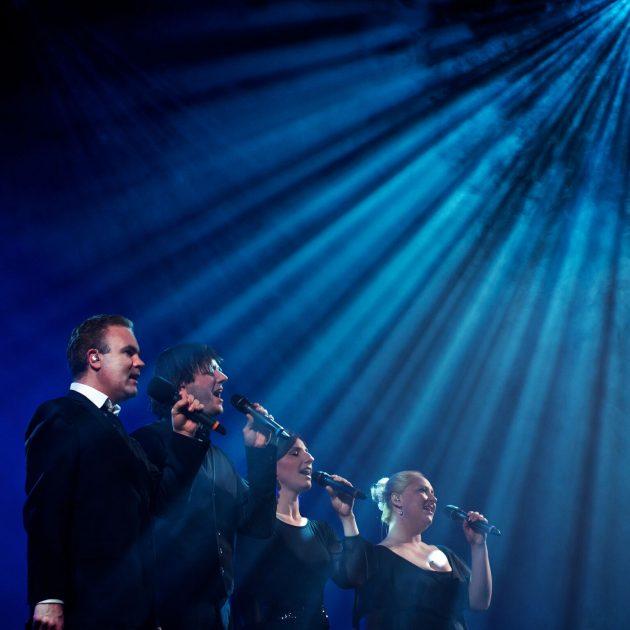 HUSH quartet The Idea of North