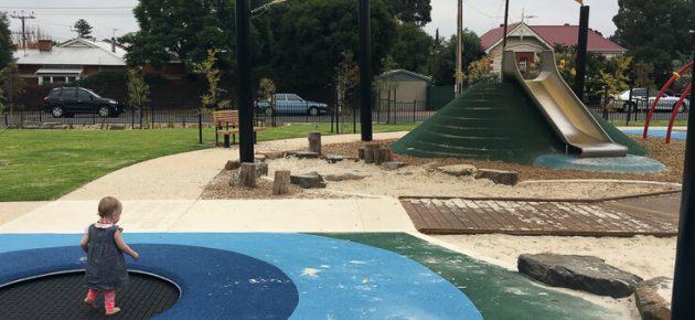 Katherine Street Reserve Playground Review