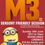 Despicable Me 3 Sensory friendly