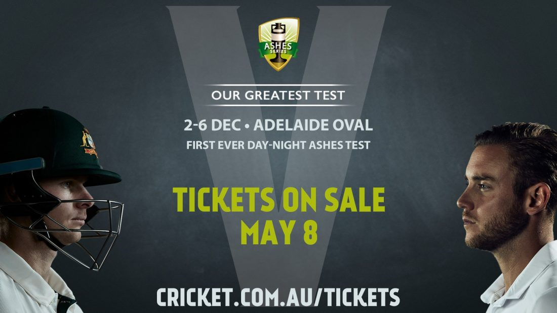 The Ashes DayNight Test Australia V England Adelaide