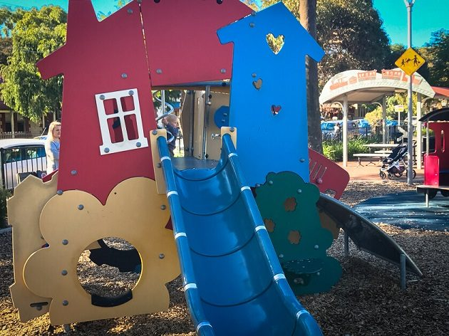 train park croydon playground