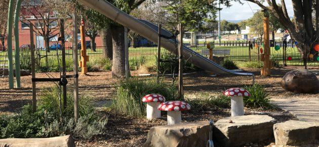 Enchanted Garden Prospect Memorial Gardens Playground Review