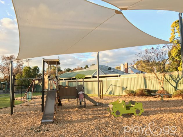 Barrans Reserve Mitcham nature play and adventure play area