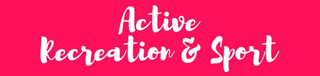 Active Recreation Sport winter school holiday