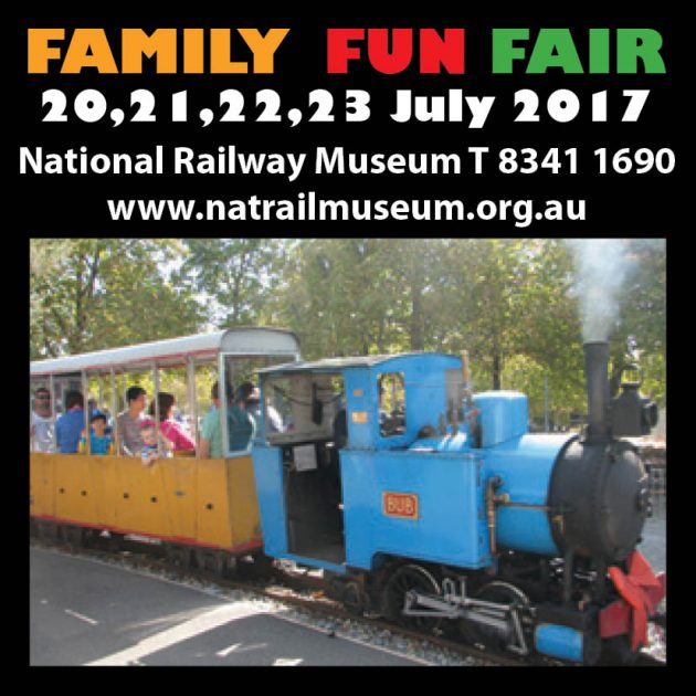 National Railway Museum July 2017 family fun fair