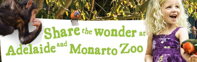 Share the wonder at Adelaide Zoo Winter School Holidays