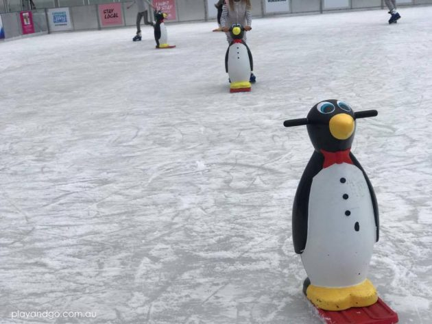 winter wonderland penguin