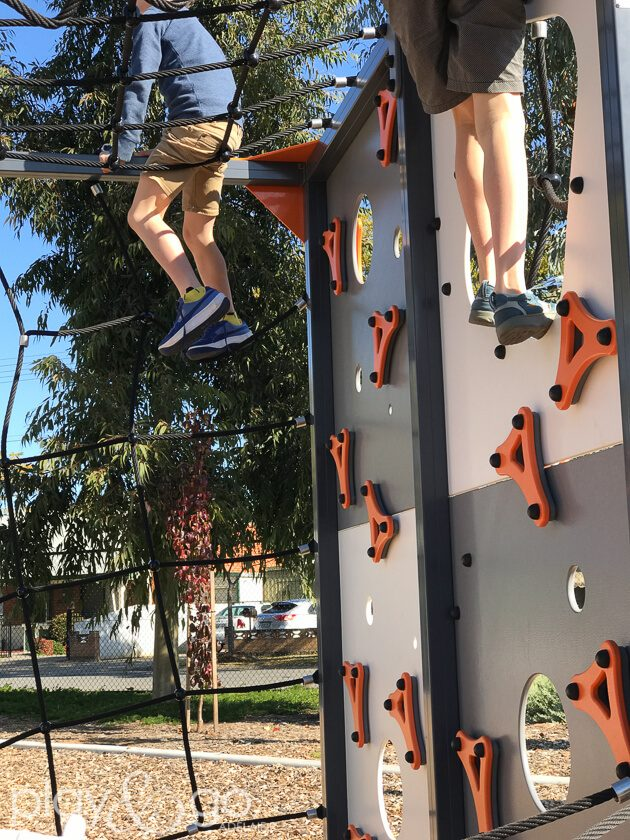 Allenby Gardens Reserve Accessible Playground