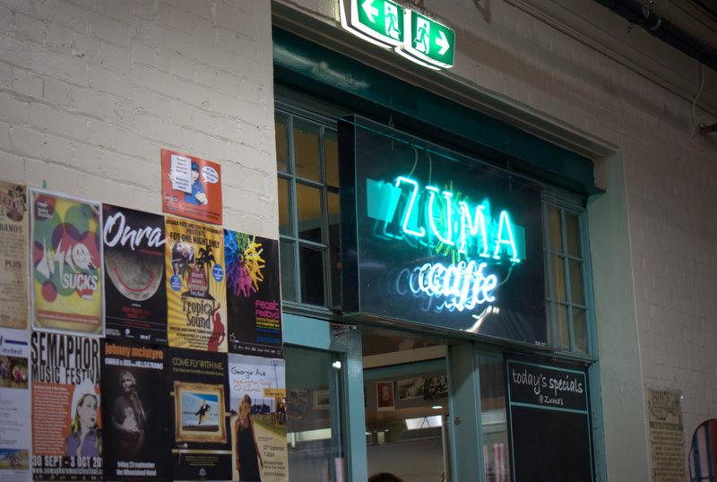 Adelaide Central Market Weekend Breakfast at Zuma Caffe