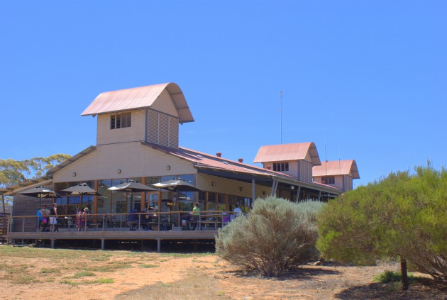 Monarto visitors centre