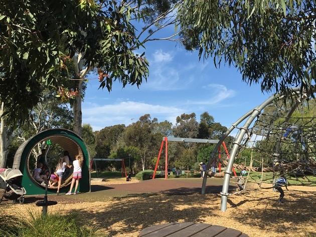 Bonython Park Playground view