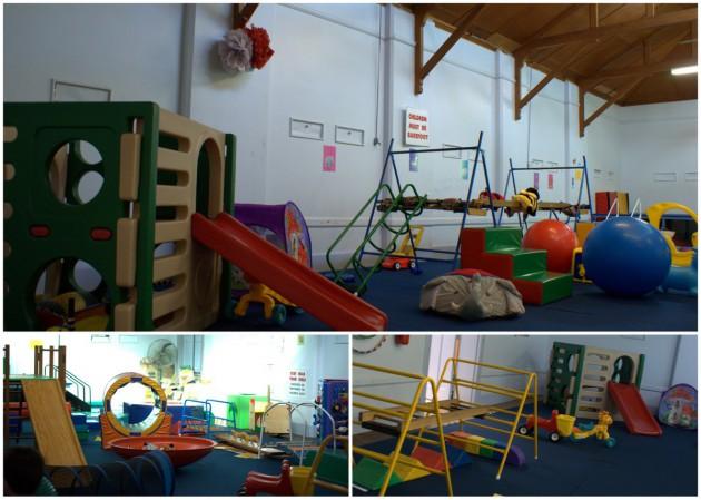 kindergym back room