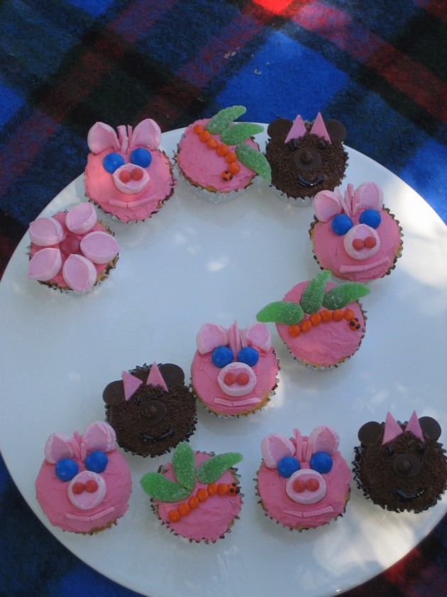 Birthday Party Cupcake Ideas