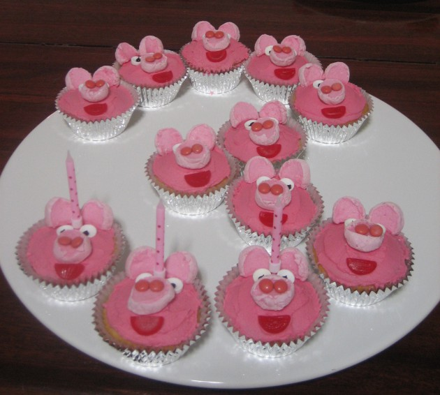 Birthday Party Cupcake Ideas