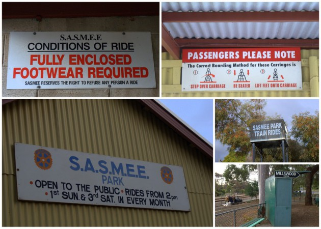 SASMEE Miniature Train Rides