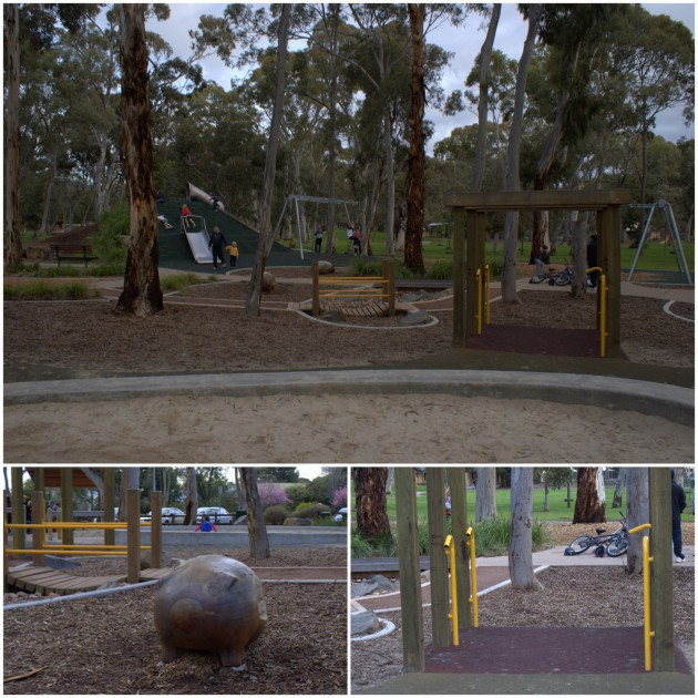 Hazelwood Park Playground pipes