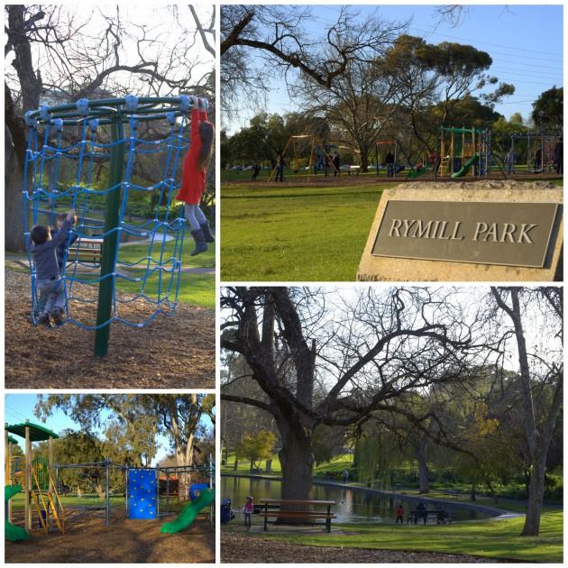 Rymill Park Playground main collage