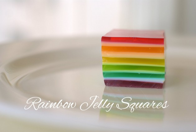Rainbow Jelly Square Delights Recipe What S On For