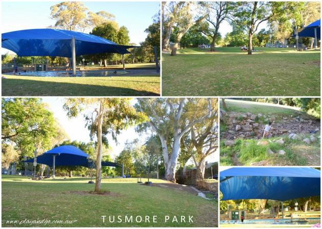 Tusmore Park January 2013